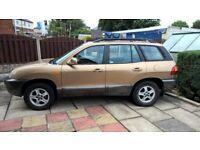 Hyundai Sante Fe low mileage