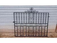Antique Metal driveway gates