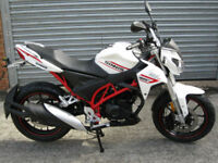 SINNIS RSX 125 EFI 2017 model brand new