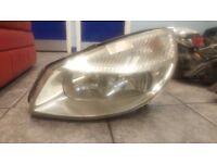2004 RENAULT GRAND SCENIC PASSENGER NEAR SIDE HEAD LIGHT LAMP COMPLETE