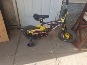 Tonka bike with mono shock