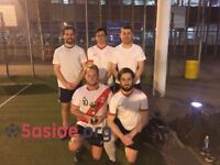 Spaces now available for 5-a-side in Central London!