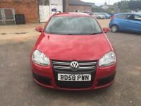 2009 Volkswagen Golf 1.9TDI DPF SE Manual diesel