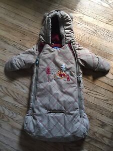 Baby Snowsuit For Car Seat