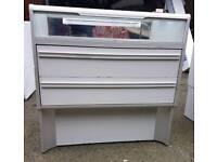 2 Shop Display Cabinets