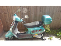 Vespa LX50 PIAGGIO - 519km/322 miles, slight damage