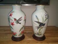 Meadowland & Garden Bird Vases by Basil Ede