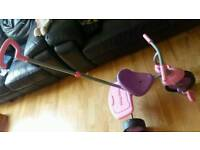 Pink Fisher price tricycle