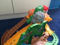 Take and play Thomas track