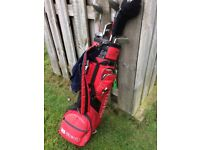 Olympus Golf clubs (half set), really decent bag and some used balls all included.