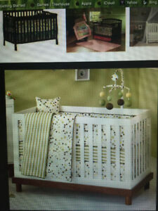 Crib & matching change table