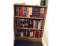 Three shelf bookshelf, bookcase, wood effect