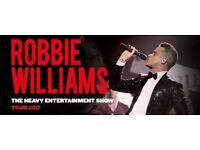 Robbie Williams concert tickets in Vienna!