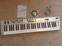 M-Audio Radium 61-Key USB MIDI Controller Keyboard