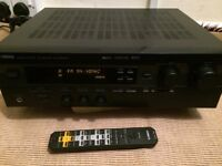 YAMAHA RX-V396RDS HOME CINEMA RECEIVER, FULLY WORKING, CRYSTAL CLEAR SOUND, EXCELLENT CONDITION.