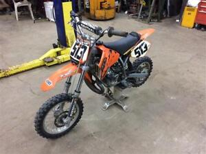 KTM SX50 SR 50cc Motocross Dirt Bike New Engine 50