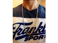 """9ct Gold Belcher Chain, 67g and 30.5"""""""