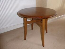 Ercol Solid Elm Lamp/Side/Coffee table