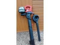 Black & Decker leaf blower & vacuum.