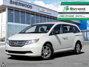 2013 Honda Odyssey EX One Owner Local PST PAID Trade!!