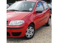 (((LOW INSURANCE GROUP ))) FIAT PUNTO 1.2 ACTIVE ((05 PLATE ))* 1 LADY OWNER * F/S/H*MOT- JULY 2018*