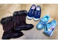 Girls shoes size 5 and 6