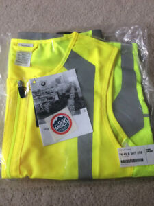 New with tags Original BMW High Visibility Vest