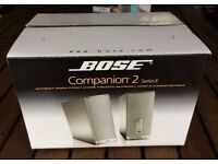 Bose Companion 2 series II Speakers