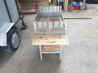 Large Family Charcoal BBQ almost New