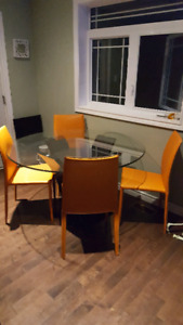 8mm glass dining table
