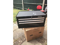 Halfords Industrial 3 Drawer Tool Chest / Toolbox / Brand New / Can Deliver Locally FREE