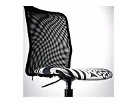 £15 ^*^ IKEA TORBJORN Swivel Chair, Black, As New, Free BONUS ^*^
