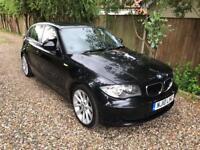 BMW 118d ES, 62k, Alloys, Black