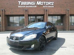 2006 Lexus IS 350 LEATHER   SUNROOF   HEATED AND COOLED SEATS  