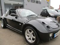SMART ROADSTER 0.7 Targa 2dr Auto (black) 2004