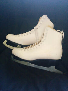 Ladies white skates