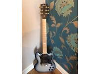 Gibson SG Raw Power in Satin Blue Platinum