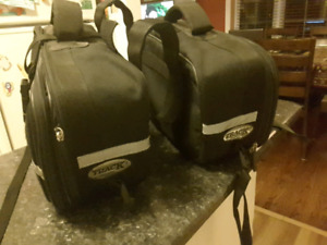 Motorcycle saddlebags by IVM