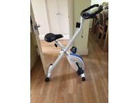 Davina foldable magnetic excercise bike