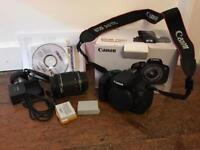 Canon 700D full camera kit with EF-S 18-55 lens