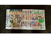 Cross Stitch Gallery magazines