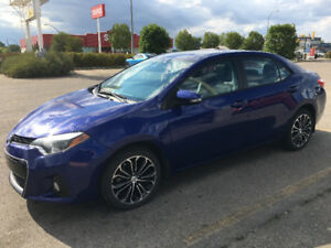 2015 Toyota Corolla S LEASE TAKEOVER OR PURCHASE