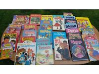 Selection of Girls Annuals
