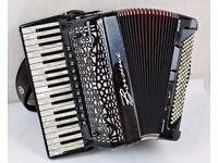 Borsini Vienna K94 Accordion - 37/120 - 4 Voice Musette - Double Cassotto with MIDI & Mics