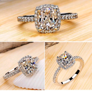Women Promise or Engagement ring White Gold size 6 great gift!