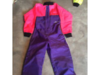 Allin one waterski suit