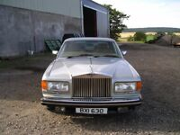 1981 Rolls Royce Silver Spirit for sale with only 47121 miles covered for just £3,500