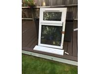 Double glazed window