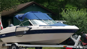 2000 17.5 Tempest Bowrider with trailer