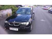 BMW X3 83k miles with service history and 12 months mot